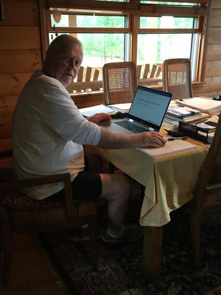 Dave's home office