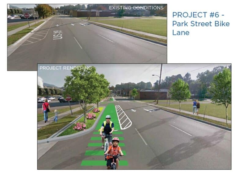 Canton Bicycle and Pedestrian Planning